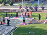 Free Yoga on the Square at Easton