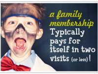Discount on COSI memberships