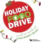 Vertical Adventures Holiday Food Drive