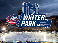 Columbus Blue Jackets Winter Park Ice Rink