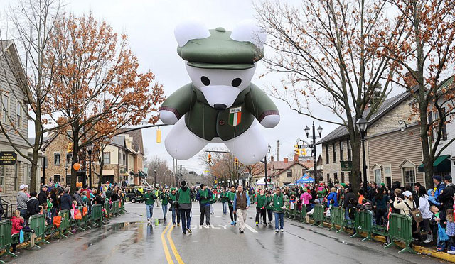 Dublin Ohio St. Patrick's Day Parade and Events