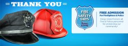 Free admission at Kings Island for police and fire personnel