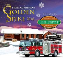 Golden Spike Open House Christmas Celebration at The Depot