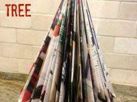 Easy Magazine Christmas Tree Decoration