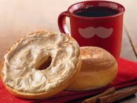 Einstein Bros offers free bagel & shmear