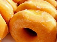 Krispy Kreme: Free doughnut with cup of coffee in February