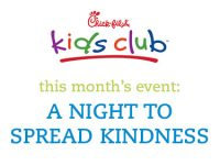 Chick-fil-A Kids Club Family Date Night