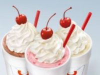 SONIC offers half-price shakes and ice cream slushes after 8 p.m.