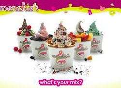 Menchies serves free frozen yogurt March 8 and 9