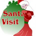 Santa at Grandview Heights Library