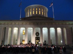Ohio Statehouse Tree Lighting and Holiday Festival