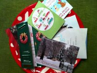 Upcycling Holiday Cards