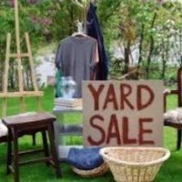 trash to treasure yard sale