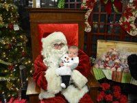 Santa Pictures around Columbus