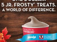 Wendy's Frosty Coupon Books: 5 Frosty's for $1