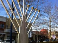 Chanukah Celebration Menorah Lighting at Easton