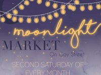 Columbus Moonlight Market on Gay Street