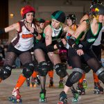 Catch the Ohio Roller Derby in Action