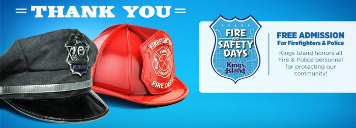 fire and safety days kings island