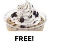 Dairy Queen whips up free Ultimate OREO Frappé