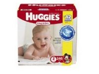 Save 55% on Huggies Diapers and Wipes on Amazon