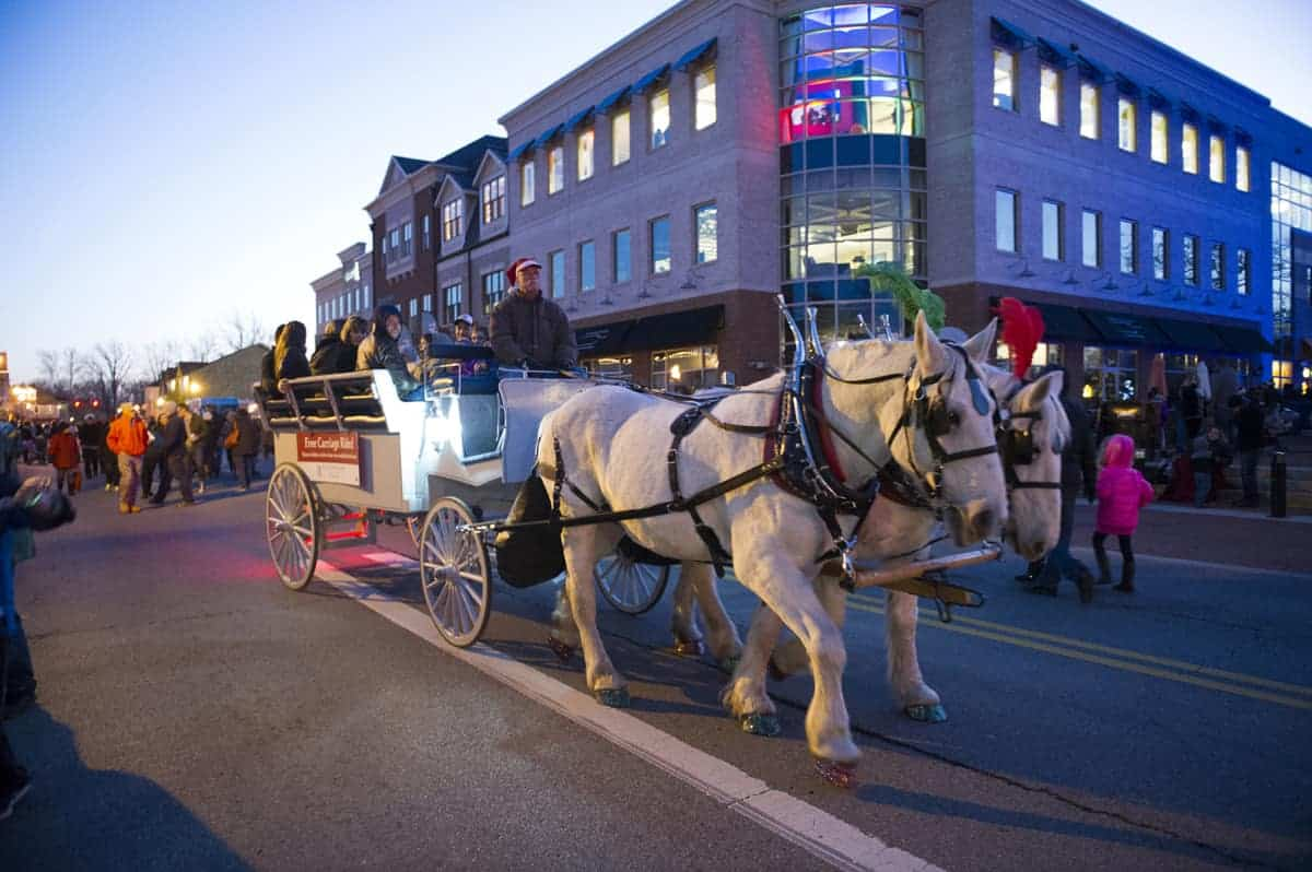Gahanna Holiday Lights Celebration And Festival With Santa
