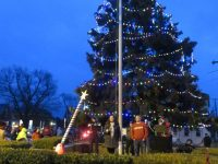 Christmas Under the Clock in Plain City