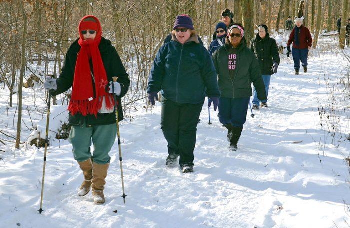 winter hike series