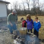 Maple Syrup Time at Gallant Farm