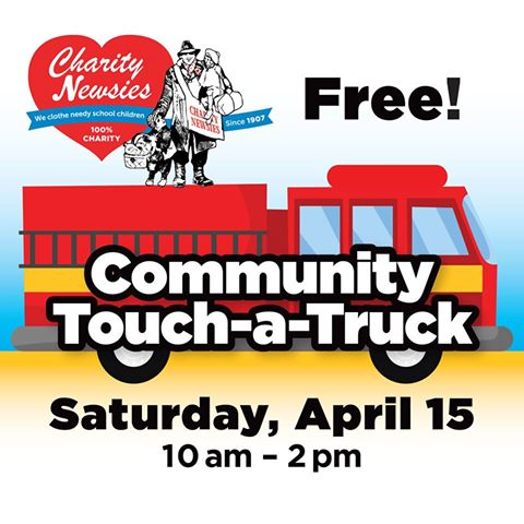 Charity Newsies Touch a Truck and free Monster Jam tickets