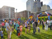 Labor Day Weekend at the Columbus Commons