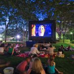 Free outdoor movies around Columbus