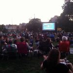 Goodale Park Screen on the Green Outdoor Movies