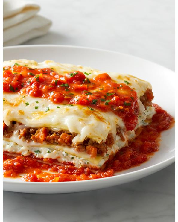Celebrate National Lasagna Day With Half Price Lasagna