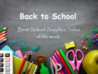 Back to School: Best School Supplies Sales this Week