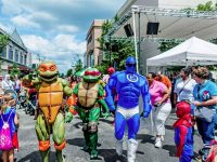 Superhero Day at Easton Town Center