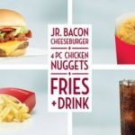 Wendy's: Giant Jr. Bacon Cheeseburger meal deal for $5