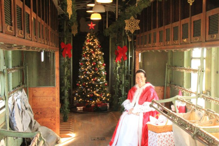 RSVP now! Holiday Train Rides in Ohio: Santa Trains and Polar Express
