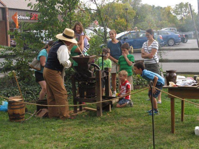 Harvest Festival Family Day at the Orange Johnson House
