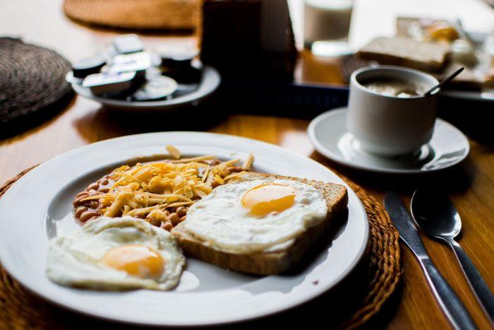 egg breakfast PJ and Eggs