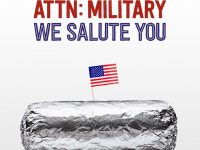 BOGO Free Chipotle for Veterans Day