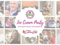 Ice Cream Party with Sam's Fans and the Shazzbots!