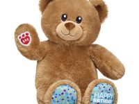 "Build-a-Bear ""We're Sorry"" Voucher and Count Your Candles Birthday Treat Bear"