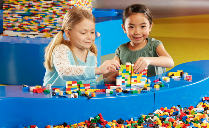 Image result for families build with construction toys for kids