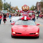 The Ohio State Homecoming Parade and Pep Rally