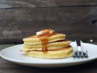 Free pancakes at Perkins Restaurant