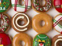 Krispy Kreme: Dozen Original Glazed doughnuts for $1