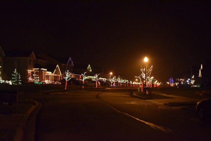 christmas lights glenross