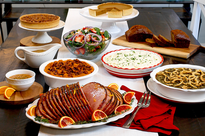 Thanksgiving meals to-go Thanksgiving meal to-go